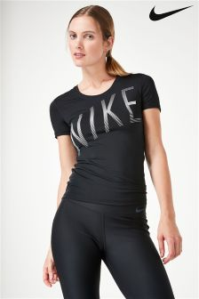 Nike Black Pro Cool T-Shirt