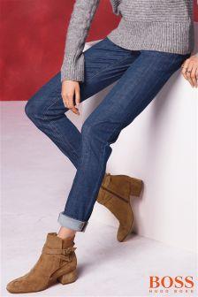 Boss Orange Dark Wash Slim Leg Jean