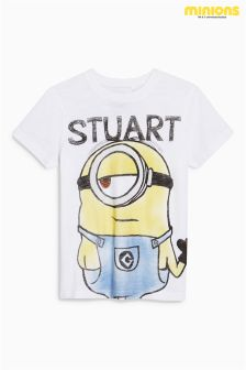 Minion Slogan T-Shirt (3-12yrs)
