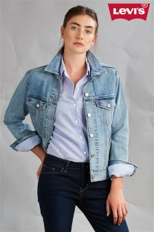 Levi's® Mid Wash Boyfriend Trucker Jacket