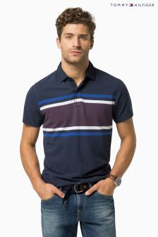 Tommy Hilfiger Berend Stripe Polo Top