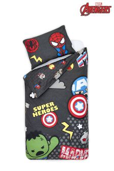 Marvel Avengers Bed Set