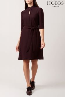 Hobbs Red Lois Dress