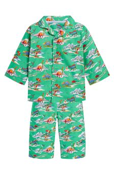Dino Traditional Pyjamas (12mths-8yrs)