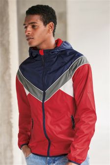 Colourblock Runner Jacket