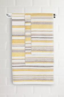 Marl Stripe Towels