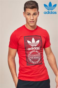 adidas Originals Scarlet Traction Tongue Tee