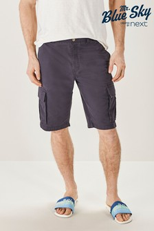 Jack Wills Navy/Green Check Faxfleet Shorts Sleep Set
