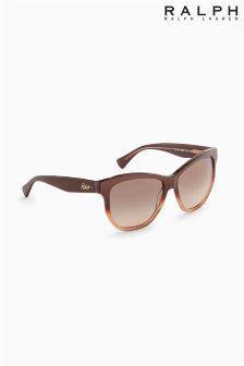 Ralph Lauren Brown Ombre Classic Sunglasses