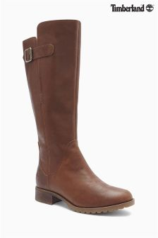 Timberland® Brown Banfield Medium Shaft Waterproof Boot