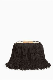 Boxy Fringe Bag