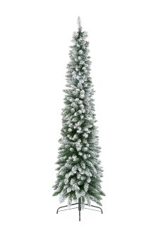 7FT Slim Snowy Tree