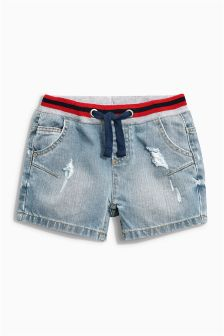Sporty Elastic Shorts (3-16yrs)