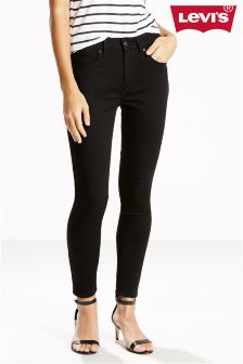 Levi's® Denim Black Sheep 721 High Rise Skinny Jean