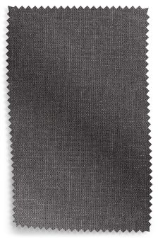 Textured Plain Dark Charcoal Fabric Roll