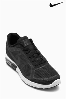 Nike Run Black/Wolf Grey Air Max Sequent