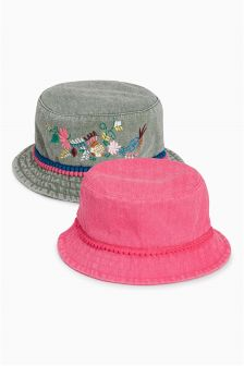 Fisherman Hats Two Pack (Younger Girls)