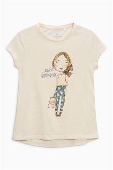 Girl Short Sleeve T-Shirt (3-16yrs)