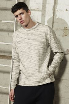 Fabric Interest Sweatshirt