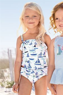 All Over Print Boat Tankini (3mths-6yrs)