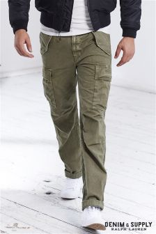 Ralph Lauren Denim & Supply Olive Cargo Pant