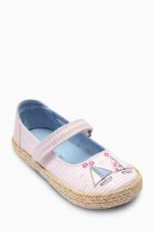 Pink Boat Pumps (Younger Girls)