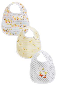 Duck Regular Bibs Three Pack