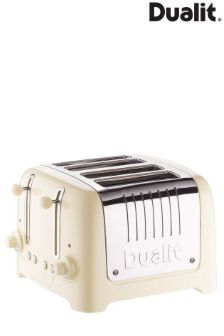 Dualit Cream 4 Slot Toaster