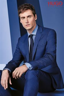 Hugo By Hugo Boss Navy Two Piece Suit