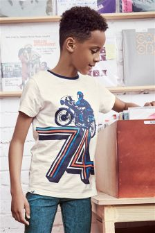 74 Motorbike T-Shirt (3-16yrs)
