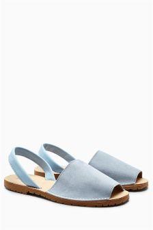 Suede Beach Sandals