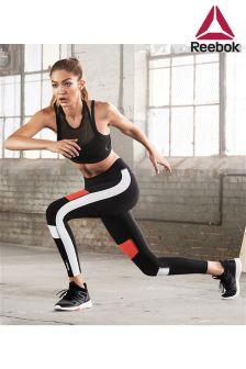 Reebok Gym Black Colourblock Legging