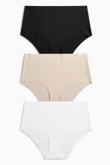 No VPL Midi Briefs Three Pack