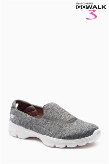Skechers® Grey Go Walk 3 Balance