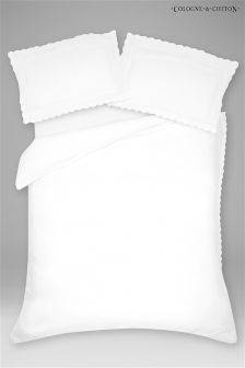 Cologne & Cotton Mariette Duvet Cover