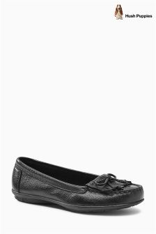 Hush Puppies Black Pump