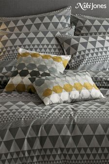 Niki Jones Isosceles Feather Filled Hex Cushion