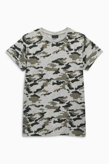 Camo T-Shirt (3-16yrs)
