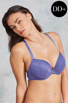 DD+ Carrie Padded Plunge Bra