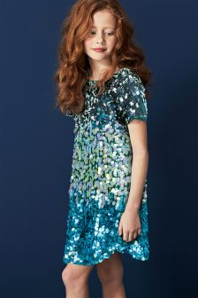 Sequin Shift Dress (3-16yrs)