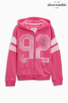 Abercrombie & Fitch Pink 92 Zip Hoody