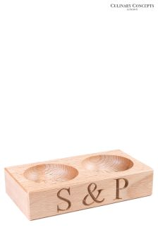 Culinary Concepts Salt And Pepper Pinch Pots