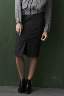 Etched Pencil Skirt