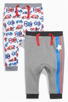 Racing Joggers Two Pack (0mths-2yrs)
