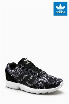 adidas Originals Black Print ZX Flux