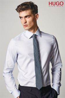 Hugo Blue Poplin Shirt