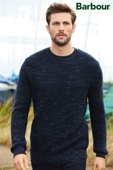 Barbour® Navy Coast Crew Neck Jumper