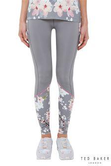 Ted Baker Grey Floral Print Legging