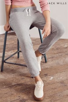 Jack Wills Grey Conerswell Tapered Jogger