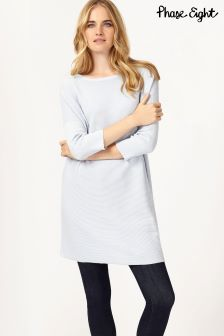 Phase Eight Tiberia Ripple Stitch Knit Tunic